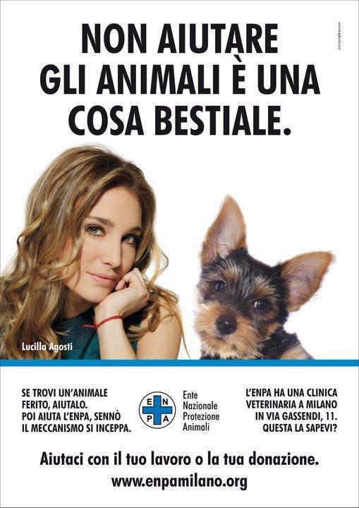 Lucilla_Agosti_testimonial_ENPA_MILANO