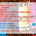 Inaugurazione vendita di beneficenza per ENPA Milano