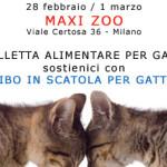 28 febbraio/1 marzo, Raccolta Pappe con Maxi Zoo!