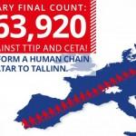 Stop TTIP: no a un mercato senza regole che minaccia persone, animali e ambiente