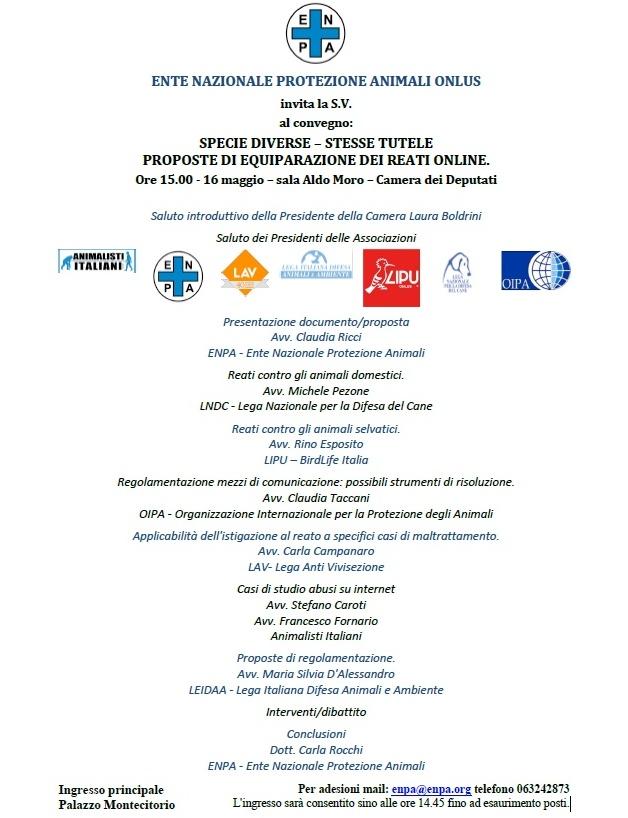 invito convegno Roma 16 maggio