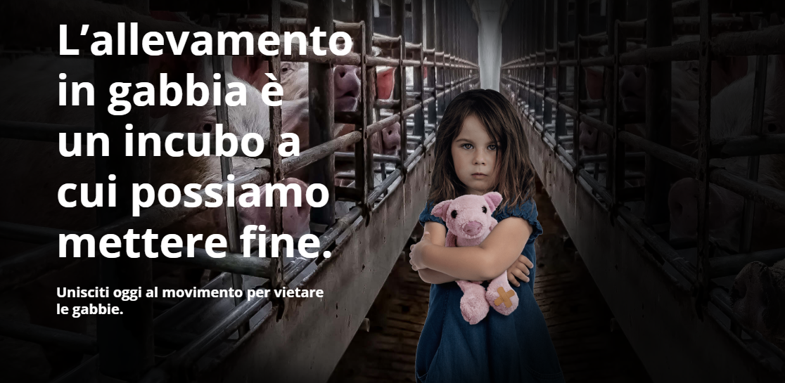 "Petizione ""End the Cage Age"""