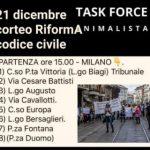 Sabato 21 dicembre: tutti in corteo a Milano per modificare il Codice Civile